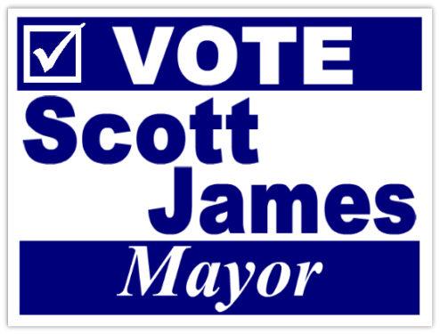 Scott James for Mayor
