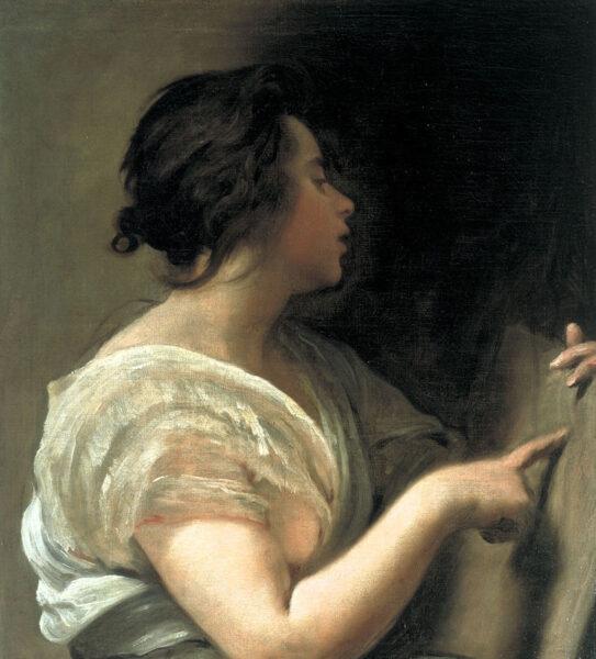 Female Figure (Sibyl with Tabula Rasa) by Diego Velázquez, c. 1648